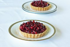 Individual Pomegranate Tarts | Recipe | Joy of Kosher with Jamie Geller
