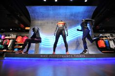 NEON LIGHTING / CONCRETE -Nike Performance Tight SP16, Algeirs – Algeria » Retail Design Blog