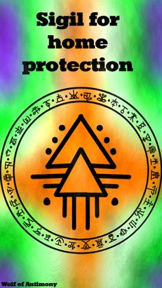 Sigil for home protection – Wolf Of Antimony Occultism Witch Symbols, Alchemy Symbols, Magic Symbols, Symbols And Meanings, Celtic Symbols, Ancient Symbols, Egyptian Symbols, Lucky Symbols, Protection Sigils