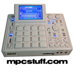 White Akai - Snow Frost Special Edition - MPCstuff full custom with all options and upgrdades Music Production Equipment, Music Gadgets, Home Studio Music, Audio Studio, Dj Equipment, Studio Equipment, Modelos 3d, Drum Machine, Software