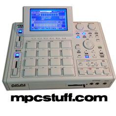 Akai MPC 1000 XLCD - ALL WHIT