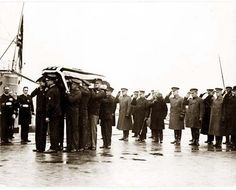 Casket of the body of the unknown soldier of World War I