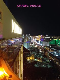 Check out the gorgeous view of the Las Vegas Strip from #FoundationRoom on the #CrawlVegas Nightlife Tour!  #BestVegasCrawl
