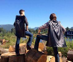 Supernatural Comic Con bag capes..lol