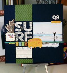 Themed Projects : {surftrip} by jenniferpebbles @2peasinabucket
