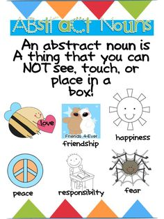 32 Best 3rd Gr Abstract Nouns Cycle 1a Images In 2019