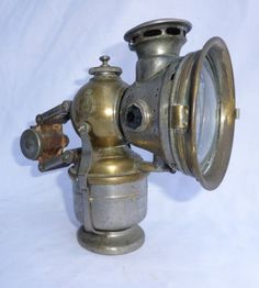Vintage Jos Lucas Bicycle Lamp Lantern Colonia Carbide 260 Antique Nr in Collectables | eBay