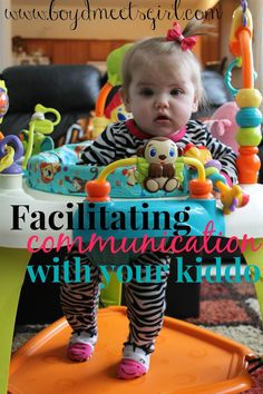 Tips from a Speech Therapist to get your toddler talking! Strategies to increase communication.