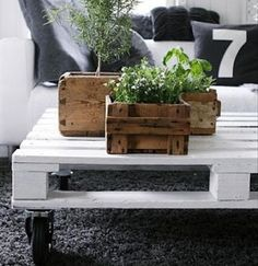 DIY Rustic Furniture | Diy rustic palet planter6