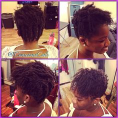 Style: Sisterlocks' Retight and Style Client's Hair Type: 4b/c Hair Added: NA Products Used: Coiled! by Conscious Coils (Original Refresher Spray)  Time: 5hrs 50mins (includes time restarting/relocking a few rows) Style Duration: Retight every 5-6weeks  #consciouscoils #consciouscoilssalon