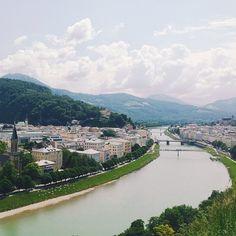 Mönchsberg mountain, Salzburg, Salzburgerland, Austria by @haileygolich  81 Breathtaking Images of Travel Inspiration :: This is Glamorous