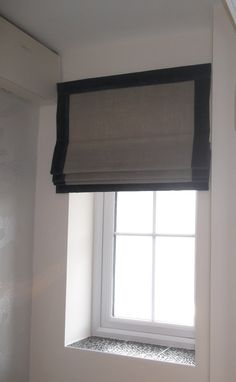 bordered roman blind with pelmet - Google Search