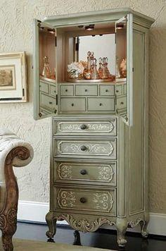 Jewelry Cabinet   #jewelryorganizer #jewelryarmoire