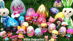Muñecas LOL Buscan Huevos Sorpresa en el Patio de Casa Mágica y Rocker