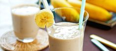 When most people think about smoothies, they assume that it's all about health and don't taste that good. Here are 10 healthy and delicious recipes for banana smoothies that are sure to have you asking for more!