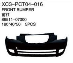 XC3-PCT04-016 Front bumper 86511-07000 180*40*50   5PCS Auto Parts,car body parts,head lamp,fog lamp,tail lamp,bumper,hood,side mirror replacement http://www.jsxcauto.com/