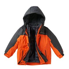 Boys 4-7 ZeroXposur 3-in-1 Heavyweight Hooded Systems Jacket/
