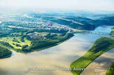 Fort McMurray. Aerial view of Fort McMurray, Alberta Canada.    images.workabove.com