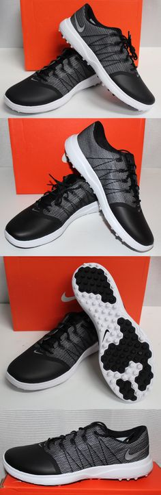 Golf Shoes 181147: Nike Lunar Empress 2 Womens Golf Shoes - Black White Metallic Silver -> BUY IT NOW ONLY: $99.99 on eBay!