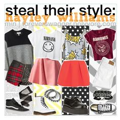 ☠ Steal Their Style: Hayley Williams.