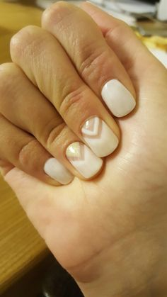 #nails #shortnails #white #white nails