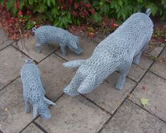 Animals in Wire: Hand-crafted original commissions