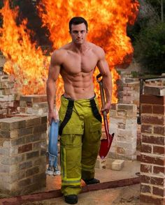 The fireman raise all funds in spare time off duty. | 15 Sizzling Hot Pictures Of Australia's Fittest Firefighters