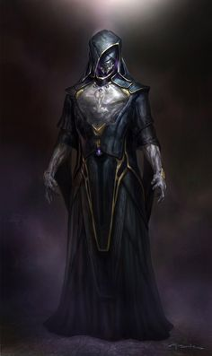 """Leader of the Chitauri concept character design for """"Marvel's the Avengers"""" by Andy Park"""
