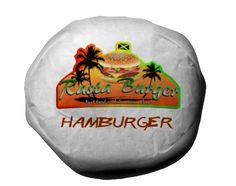 Rasta Burger Hamburger by MrAngryDog