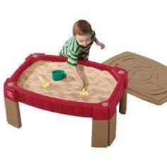 Caixa sensorial de areia da praia
