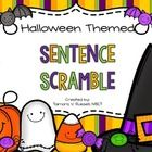 Here's a quick FREEBIE for Halloween! :)  If you love a good sentence scramble as much as I do...use this with your little learners! ;)  Have fun! ...