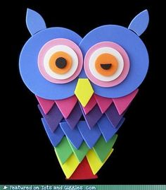 kids crafts foam Animal Crafts For Kids, Owl Crafts, Family Crafts, Crafts For Kids To Make, Fun Crafts For Kids, Craft Activities For Kids, Summer Crafts, Cute Crafts, Projects For Kids