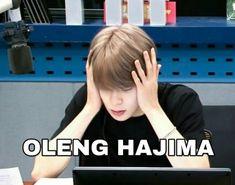Tea Meme, Cartoon Jokes, Funny Kpop Memes, Jaehyun Nct, Bts Video, Meme Faces, K Idols, Nct 127, Haha