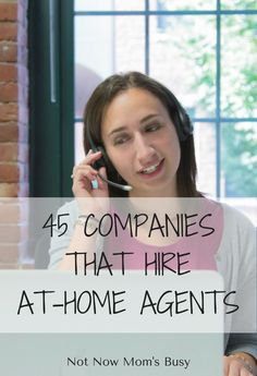 Here is a list of 45 companies that hire customer service at-home agents… Work From Home Business, Work From Home Jobs, Make Money From Home, How To Make Money, Business Ideas, Home Blogs, Career Choices, Time Management Tips, Mom Advice