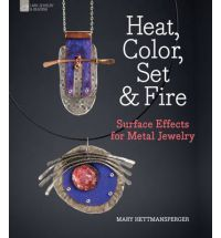 Demonstrates easy, effective ways to embellish common metal jewellery. The author uses paints, pencils and dips to achieve dramatic colour; applies foils, resins, mica and other materials to alter the jewelry's surface and works with unusual techniques, like the ancient Korean art of Keum Boo, to create a gold-gilt effect.