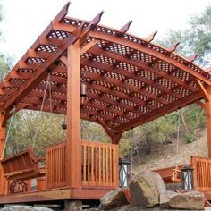 The pergola kits are the easiest and quickest way to build a garden pergola. There are lots of do it yourself pergola kits available to you so that anyone could easily put them together to construct a new structure at their backyard. Garage Pergola, Building A Pergola, Modern Pergola, Pergola Canopy, Pergola Swing, Metal Pergola, Pergola With Roof, Cheap Pergola, Covered Pergola