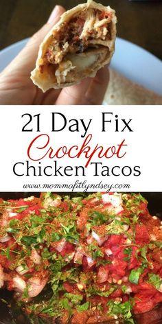 21 Day Fix Crockpot and slow cooker recipes by Lyndsey of www.mommafitlyndsey.com #21dayfix #21dayfixcrockpot #crockpot