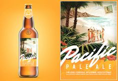 Pacific Pale Ale -The DIeline - Visual identity for a craft beer
