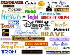 Want the coolest FREE Kid Fonts? We have the coolest free fonts including Disney. Make kids birthday invitations, party labels, printables, birthday cards and much more using our FREE fonts. Font Disney, Disney Love, Disney Stuff, Disney Monogram, Cricut Monogram, Free Monogram, Vintage Monogram, Disney Ideas, Monogram Fonts
