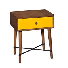 Indoor Multi-Function Accent Table Study Computer Home Office Desk Bedroom Living Room Modern Style End Table Sofa Side Table Coffee Table Yellow accent table Traditional Furniture, Modern Furniture, Colorful Furniture, Painted Furniture, Furniture Decor, Blue Furniture, Western Furniture, Smart Furniture, Scandinavian Furniture