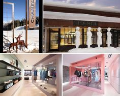 Chanel's 2013 Pop up at Courchevel