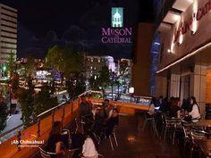 """TURISMO EN CHIHUAHUA. Si quiere probar una excelente comida, le invitamos a que nos visite en el restaurante bar """"Mesón de Catedral"""". Estamos ubicados a un costado de la imponente Catedral de la ciudad de Chihuahua en el Centro Histórico, Victoria #200 segundo piso. Contamos con una terraza, desde donde podrá disfrutar de nuestros variados platillos y de una vista inmejorable. Reservaciones a los teléfonos (614) 410 1550 https://es-la.facebook.com/pages/Meson-De-Catedral/102009729864073…"""
