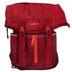 Nike LeBron Ambassador Lebron James Red Basketball Backpack BP Bag  BA4750-686