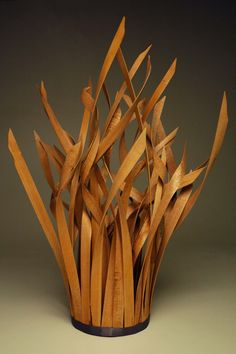 Wood sculpture by Heather Lynn