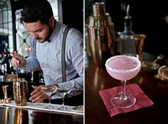 #Cocktails at Purl, London.  http://bespokemenudesign.com