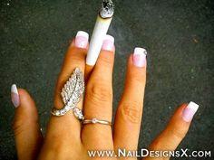 cute french nail art » Nail Designs & Nail Art