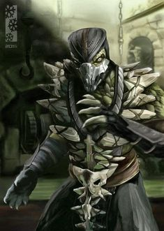Reptile My second character for Mortal kombat x character variation Dvorah.just for my personal project. Reptiles And Amphibians, Les Reptiles, Reptile Mortal Kombat, Mortal Kombat Xl, Mortal Kombat X Characters, Beyblade Characters, Deviant Art, Mi Images, Hero Fighter