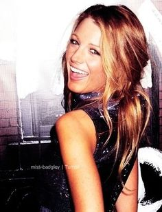 Blake Lively has the best hair!
