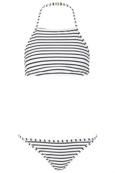 1995f741728 The best Summer swimsuits under  100  Topshop Striped high neck bikini set  ( 52)