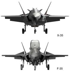 Comparison | X-35 to F-35 VSTOL